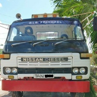 Nissan Flatbed Truck with Winch