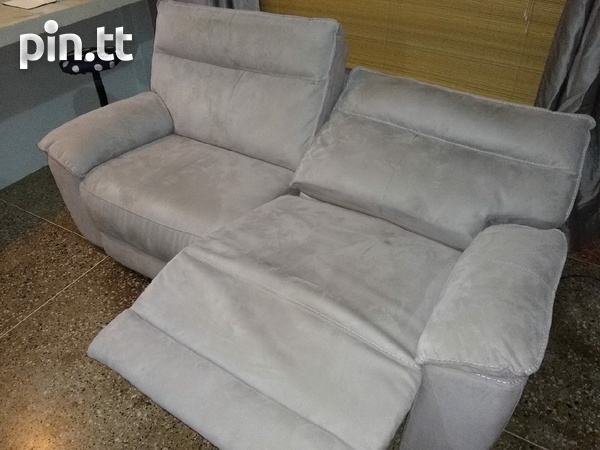 Reclining Couch-Almost new.-1
