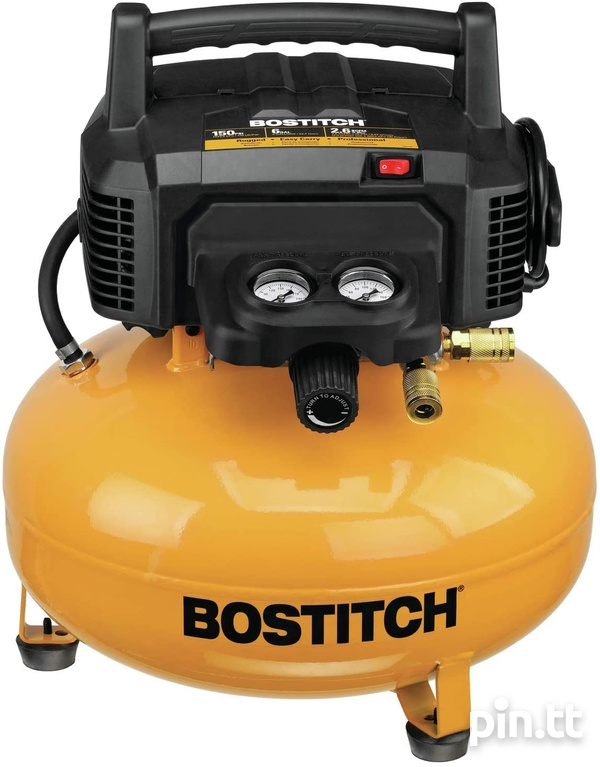 Bostitch Compressor and Concrete Nailer-1