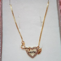 Gold filled chain and pendant