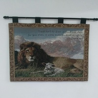Tapestry - Lion and the Lamb