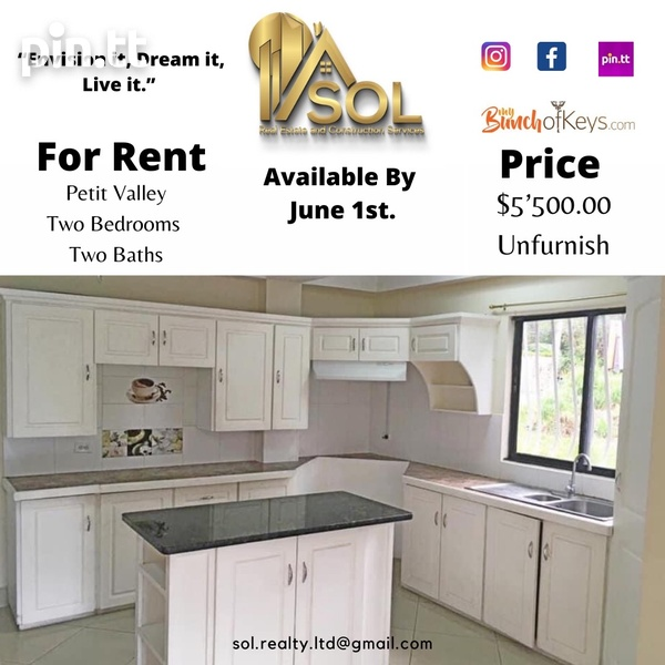 Two Bedroom Apartment - St. Lucien Road-1