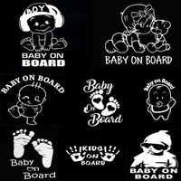 Get your baby on board stickers customized to your liking