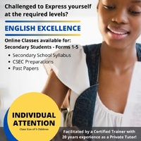 English Language for Secondary School Students