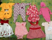 10 piece Baby girl clothing lot