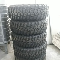 Jeep Rubicon stock rims and tyres