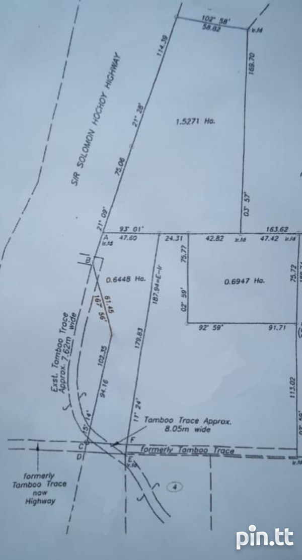 7.5 Acres along the South Bound Lane of the SH H/way- Claxton Bay-4