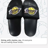 Kids Lakers slippers