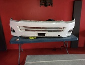 Toyota hiace wide body bumper with fog lamp