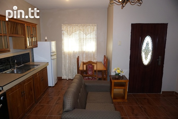 Fully Furnished Piarco One Bedroom Apartment-4