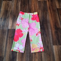Floral Stretch Pants