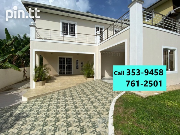 Couva New 3 Bedroom House-1