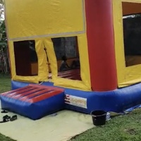 Commercial Bouncy Castle and water slide
