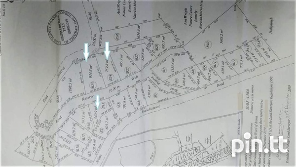 PLOTS OF LAND BLANCHISSEUSSE RD ARIMA CASH BUY ONLY-5