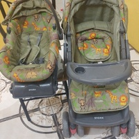 Baby stroller, car seat willing for trade hardly used