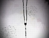 Stainless steel 36 inch rosary bead chain