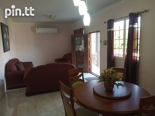 Furnished Two Bedroom Apartment, Lange Park Chaguanas-1