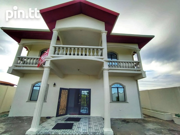 Unfurnished Chaguanas 2-Storey, 4 Bedroom House-7