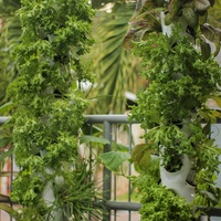 Hydroponic grow towers