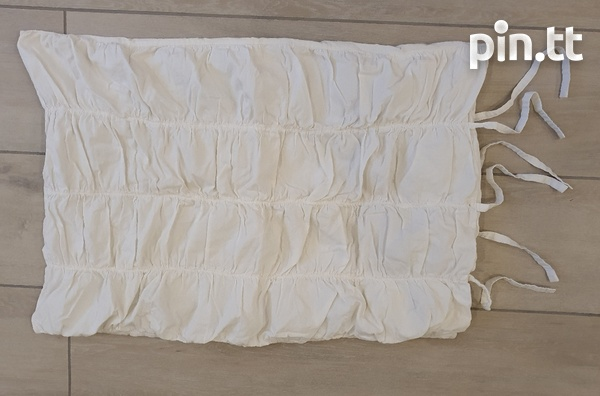 Ruffled Curtain, Pillow and Single Sham Cover-2