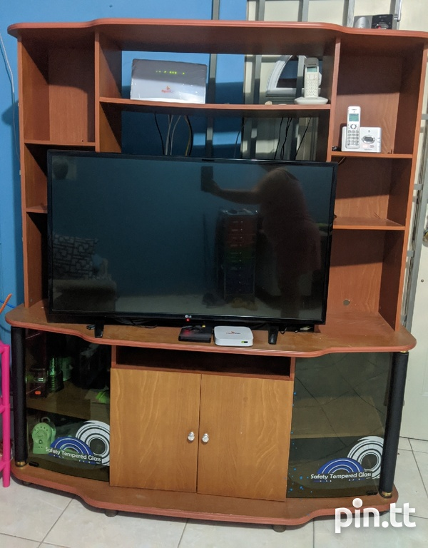 TV stand and space saver