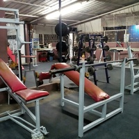 Gym Equipment and Rubber Flooring