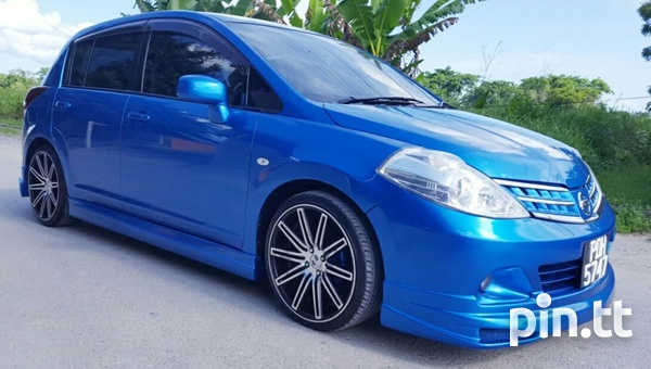 2008 - 2012 Nissan Tiida Hatchback Body Kit-4