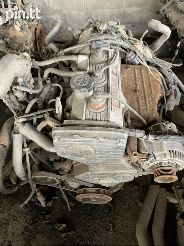 Toyota 4S Engine And Transmission-1