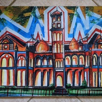'Unity'- Limited Edition Canvas Print of Original Local Painting