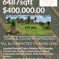 6487sqft lot town and country approved