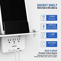 VINTAR 6 Port Surge Protector Wall Outlet