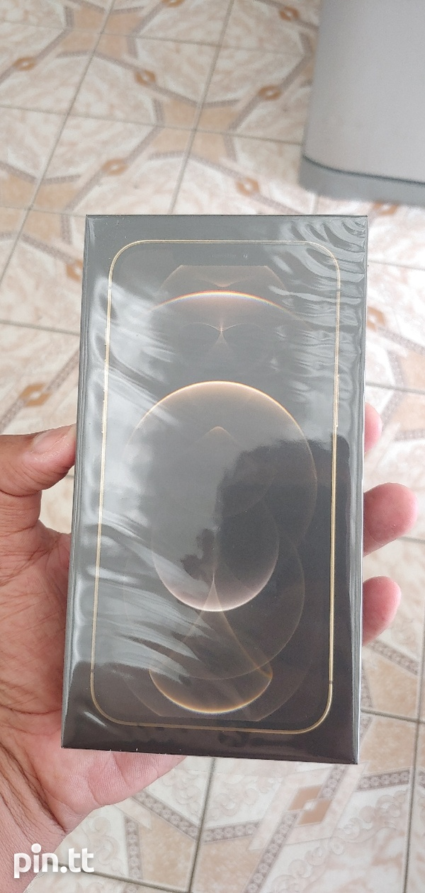 iphone 12 pro max Gold 128gb Brand New Seal-1