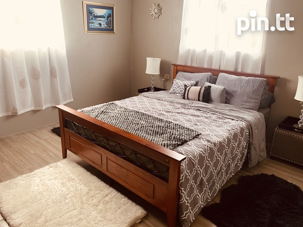 2 bedroom Trincity apartment, fully furnished, fully air conditioned-4
