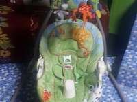 Baby swing and car seat