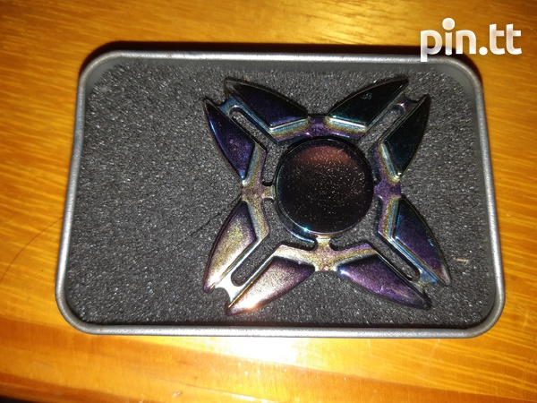 Iridescent Metal Fidget Spinner-2