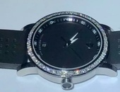 Movado Diamond Bezel Watch