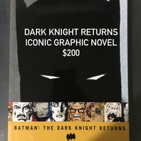 Dark Knight Returns New Graphic Novel
