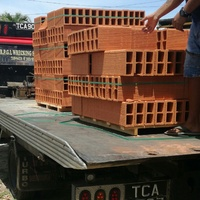 Two pallets of Red Bricks