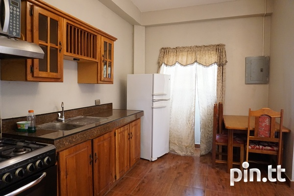 Fully Furnished Piarco One Bedroom Apartment-5