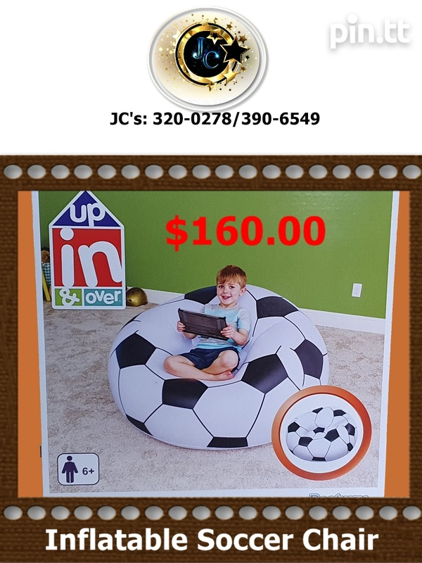 Inflatable Soccer Chair