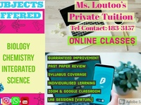 Ms. Loutoo's Private Tuition
