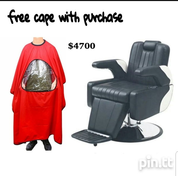 Barbering chair / reclining