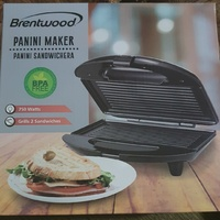 New Brentwood panini press