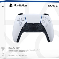 Sony PS5 DualSense Wireless Controller - White. New, Sealed.