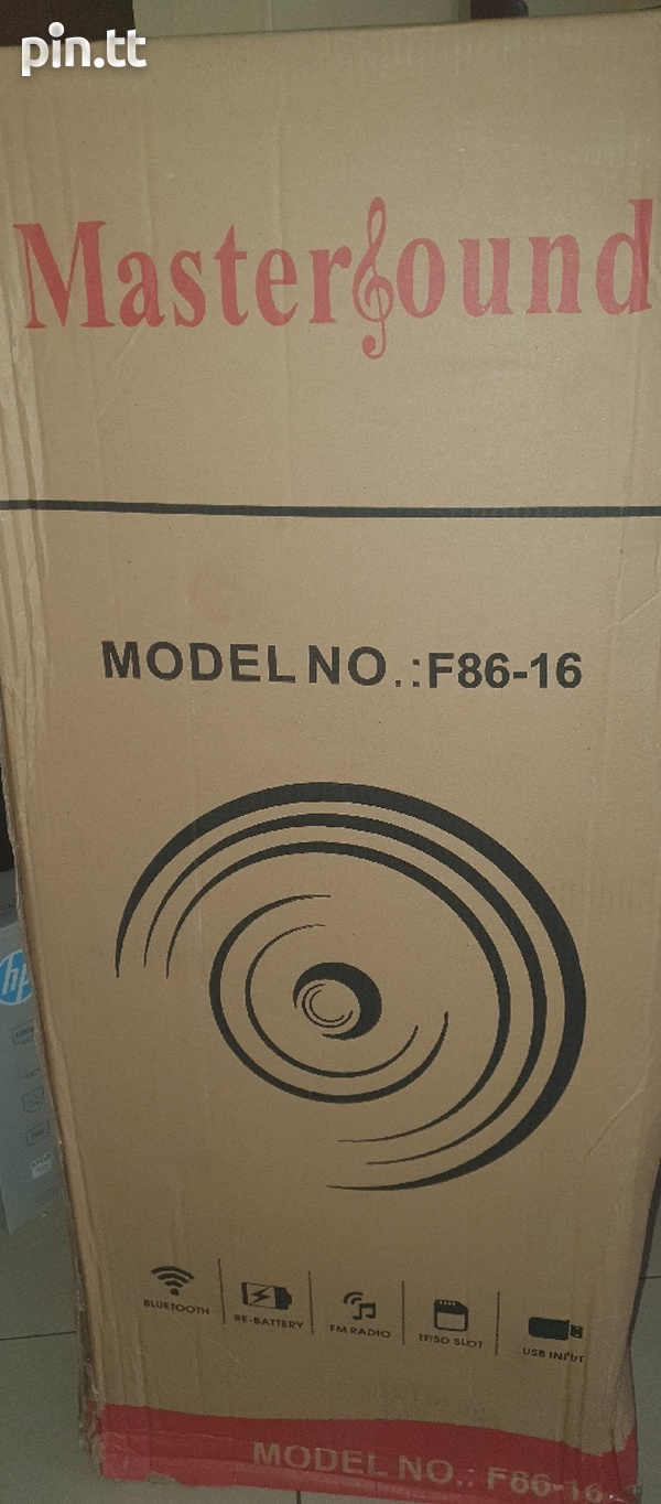 Subwoofer box, 2 - 15inch, new-4
