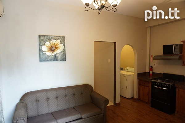 Fully Furnished Piarco One Bedroom Apartment-3