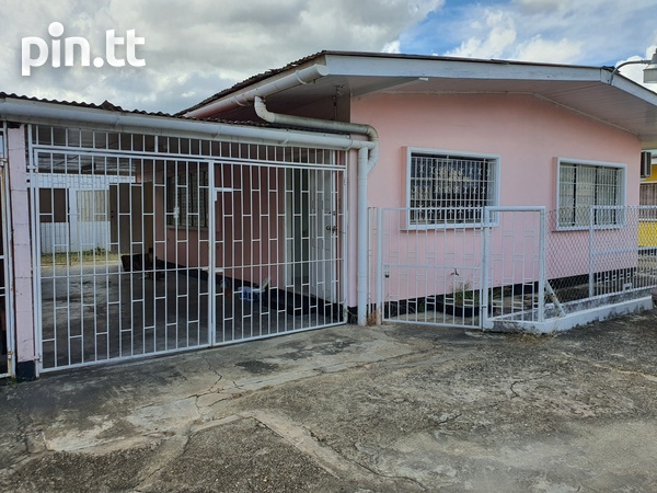 Curepe 2 Bedroom House-1