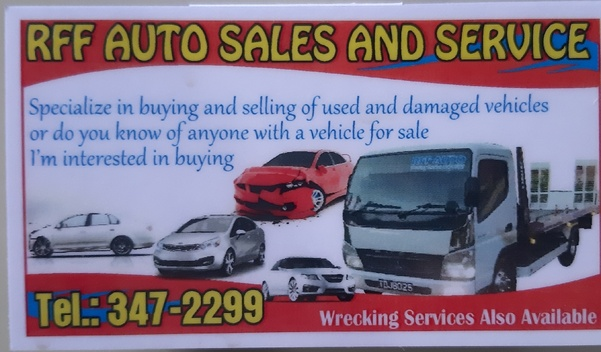 RFF AUTO SALES AND SERVICES
