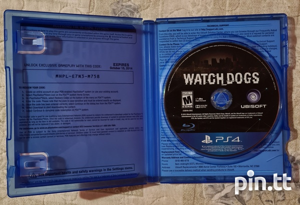 Watch Dogs - PS4 Game-2