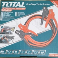 Total booster cable with LED